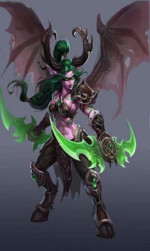 demon hunter class clipart 7 - Классы игры WOWcd