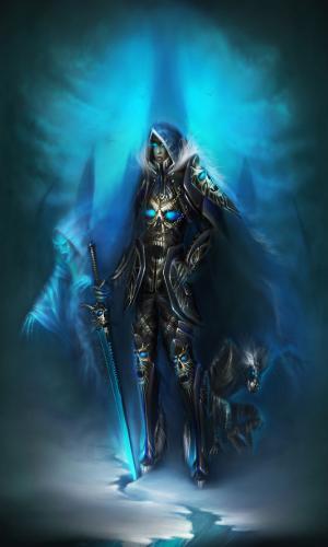 wrath of the lich king death knight - Классы игры WOWcd