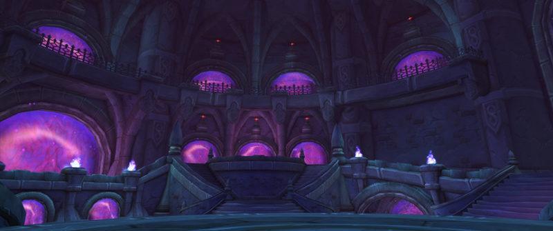 Аметистовая крепость подземелье WoW