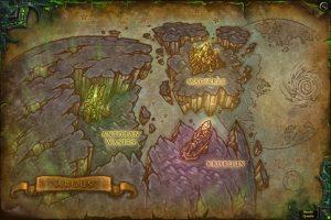 Карта Аргуса WoW