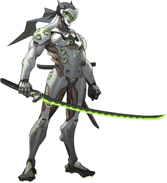Genji concept - Гайд на Гендзи героя Overwatch.cd