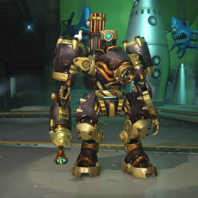 Скины героя Overwatch Bastion(Бастион)