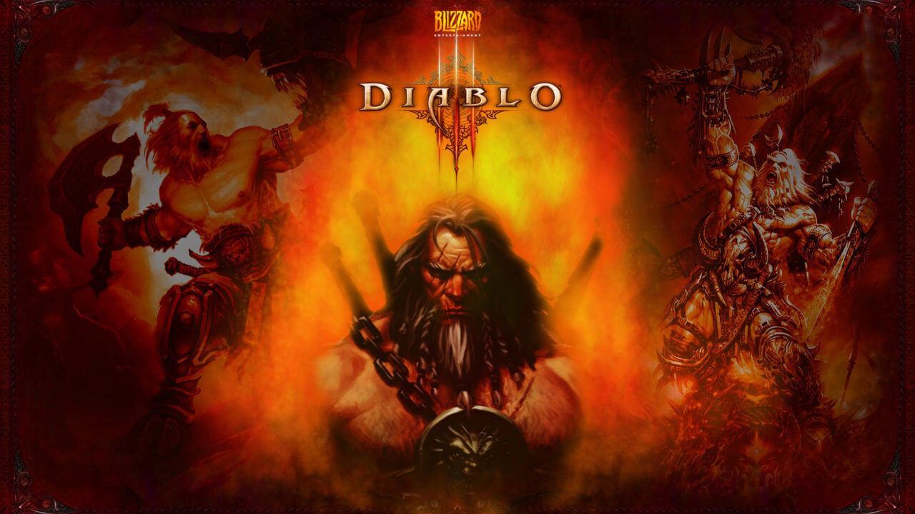 diablo iii game hd - Варвар-саппорт с сетом Рекор 2.6.1cd