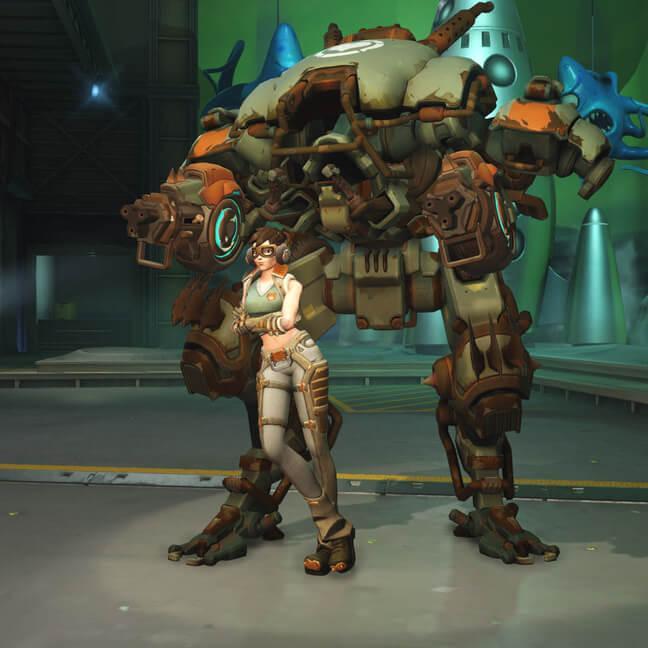 dva skin scavenger small - Скин D.VA героя Overwatchcd