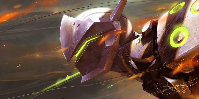 image genji - Гайд на Гендзи героя Overwatch.cd