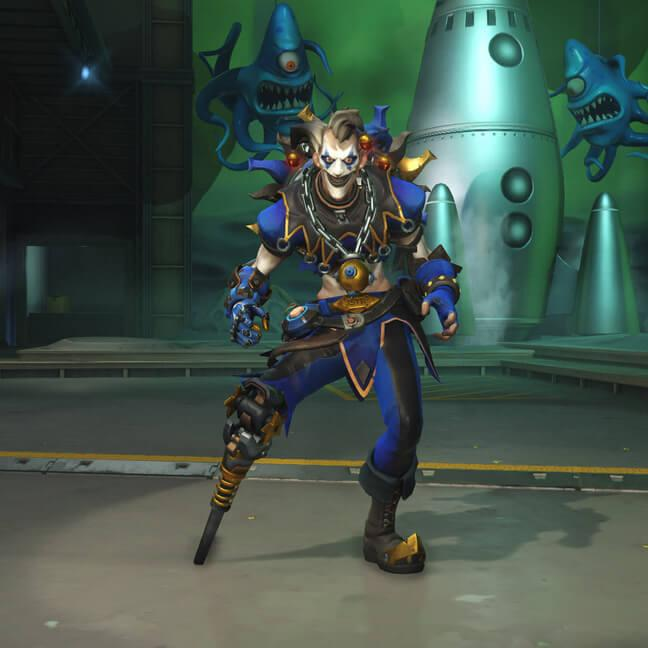 Скины крысавчика (junkrat) Overwatch