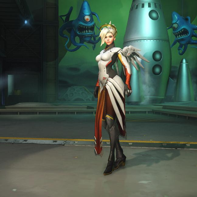 mercy skin classic small - Скины Ангела Overwatchcd