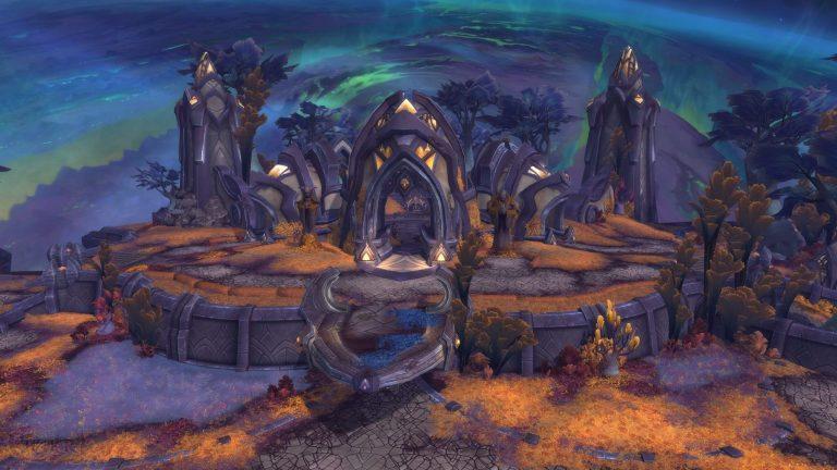Мак'Ари - локация WoW Legion 7.3