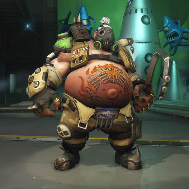 Скины героя Турбосвин для Overwatch