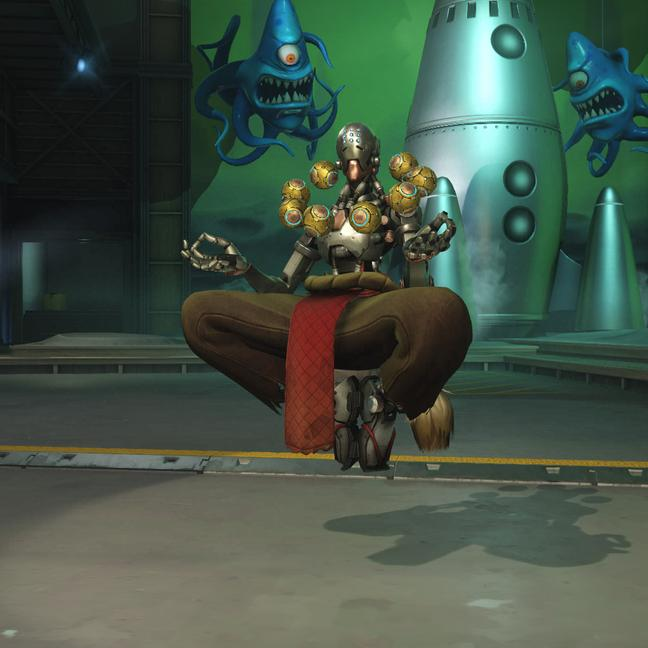 zenyatta skin earth small - Скины на Дзеньятта Overwatchcd