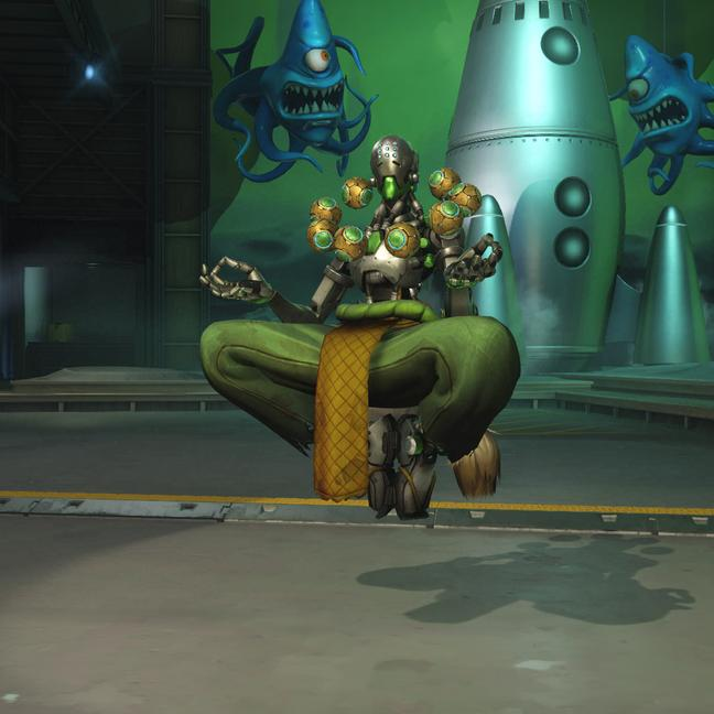 zenyatta skin leaf small - Скины на Дзеньятта Overwatchcd