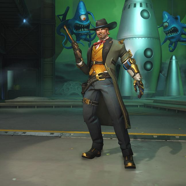 mccree skin gambler small - Маккри (McCree) скины Overwatchcd