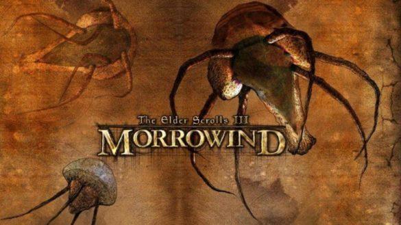 Заставка в игре Morrowind