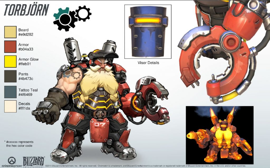 overwatch cosplay torbjorn 02 hd 1024x640 - Гайд на Торбьорна Overwatchcd