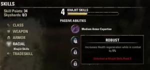 passive abilities 300x140 - Прокачка уровня и характеристик персонажа в TESOcd