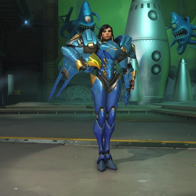 Фарра (Pharah) скины Overwatch
