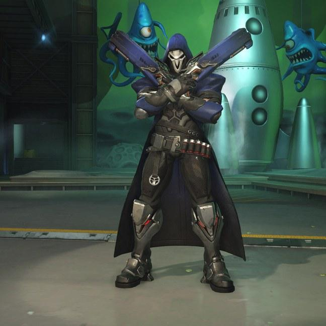 Жнец (Reaper) скины Overwatch