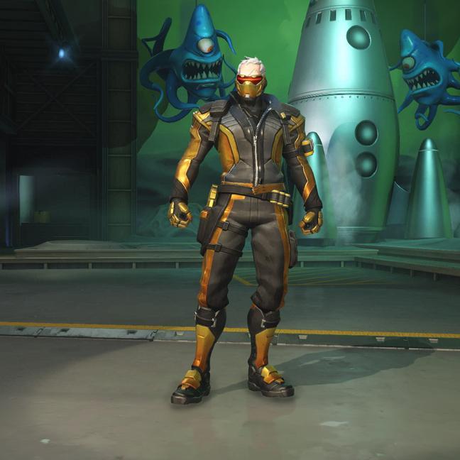 Скины Солдата 76 (Solider 76) из Overwatch