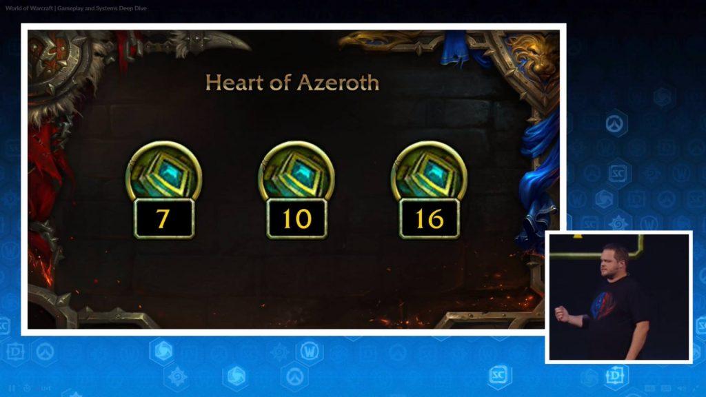 Новый артефакт Сердце Азерота
