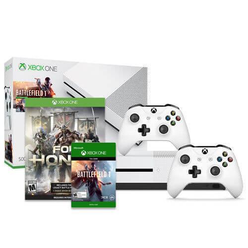 Xbox One X c играми