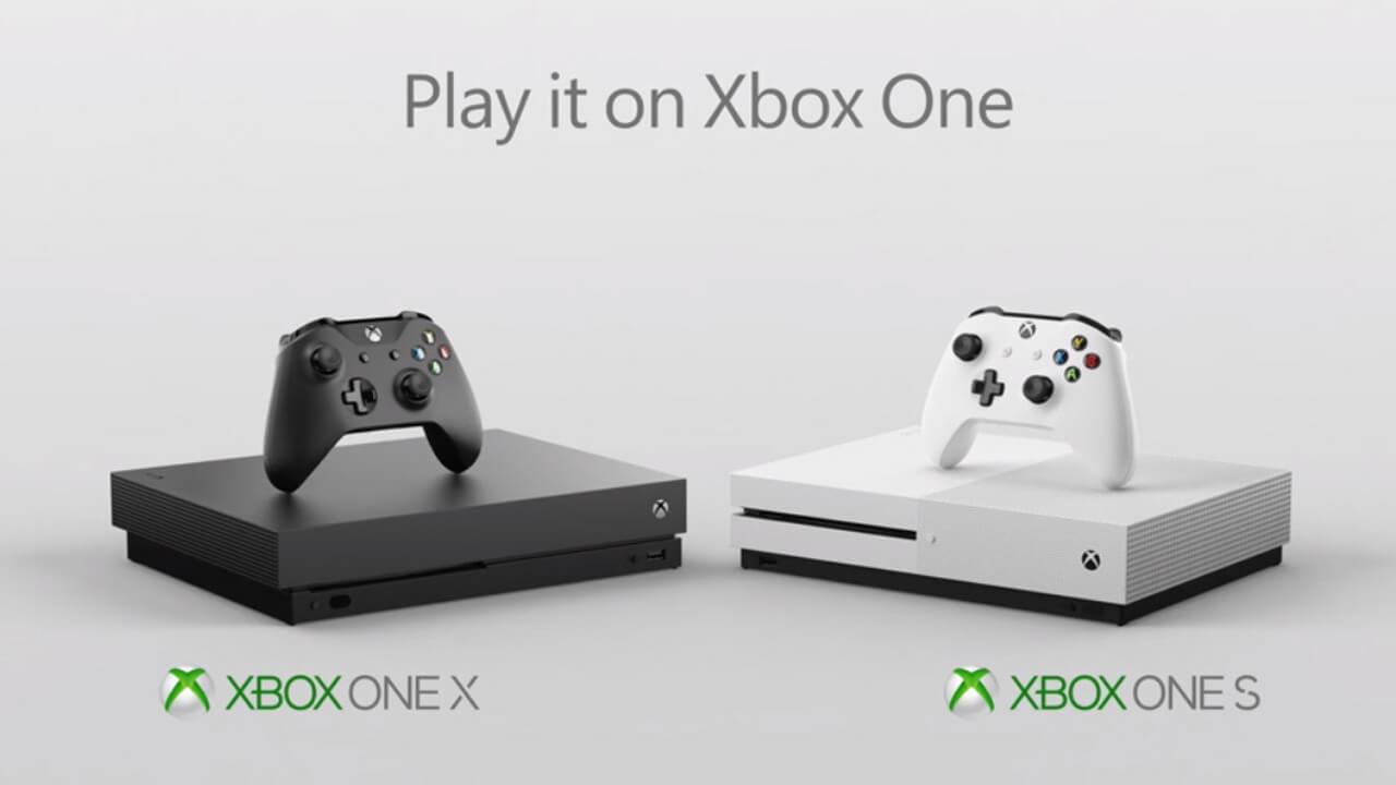 Xbox One X конкурентная борьба