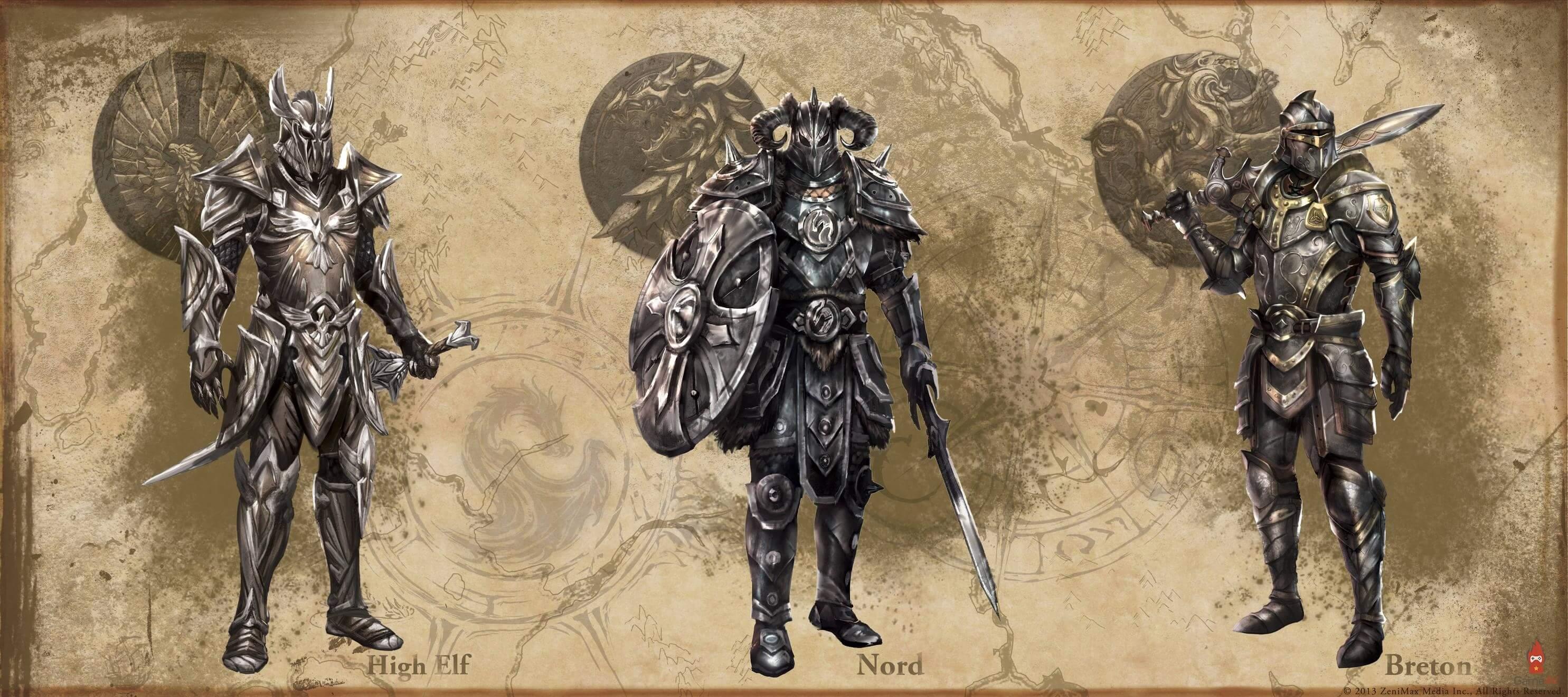 The Elder Scrolls Online 7 - Рыцарь дракон классовый гайдcd