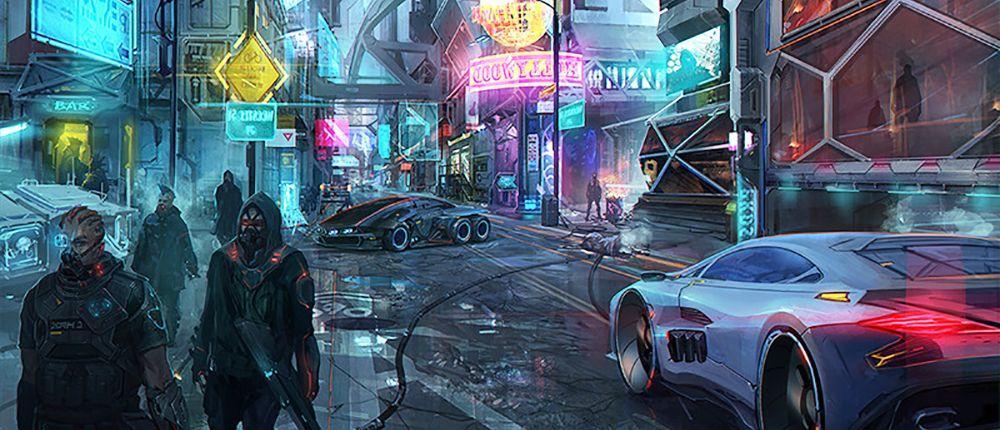 sluha mcyberpunk 2077 - Cyberpunk 2077 будет намного масштабнее Ведьмака 3cd