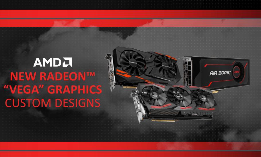 AMD демонстрирует новые графические процессоры на выставке CES 2018, подтверждает партнерство Intel
