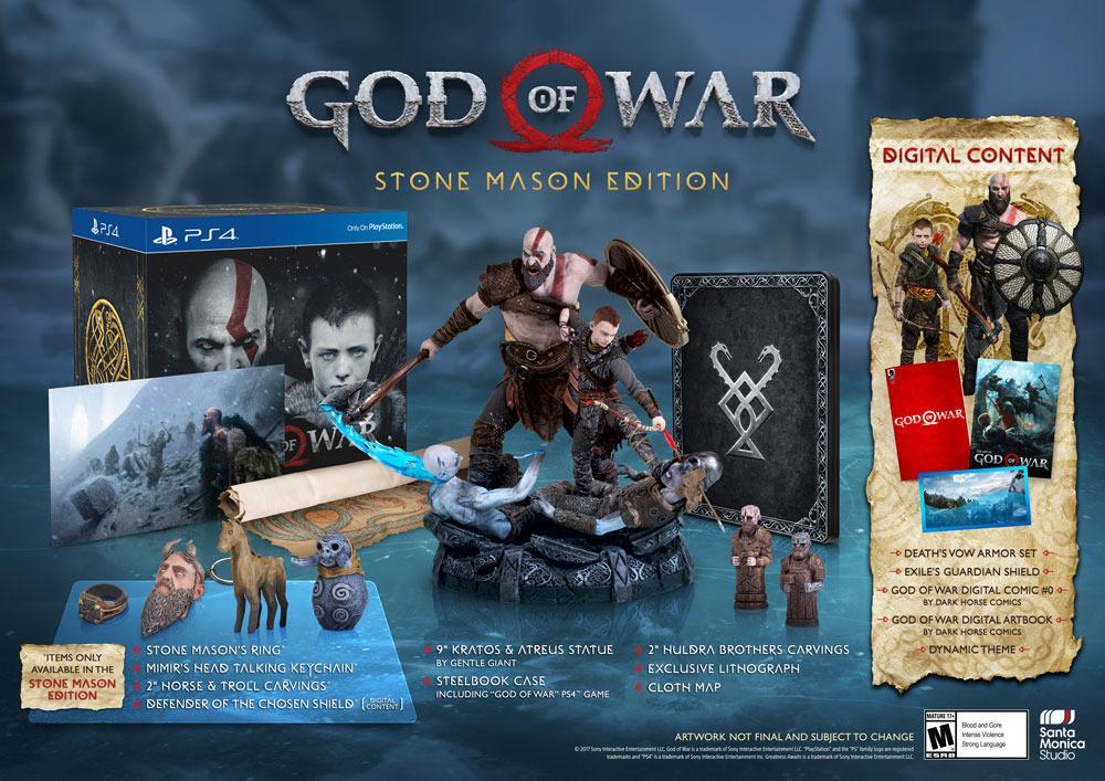 Коллекционное издание нового God of War