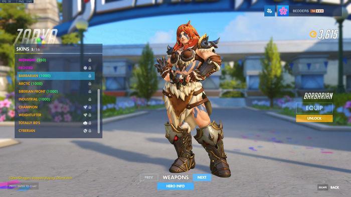 Blizzard World: все новые легендарные скины в Overwatch