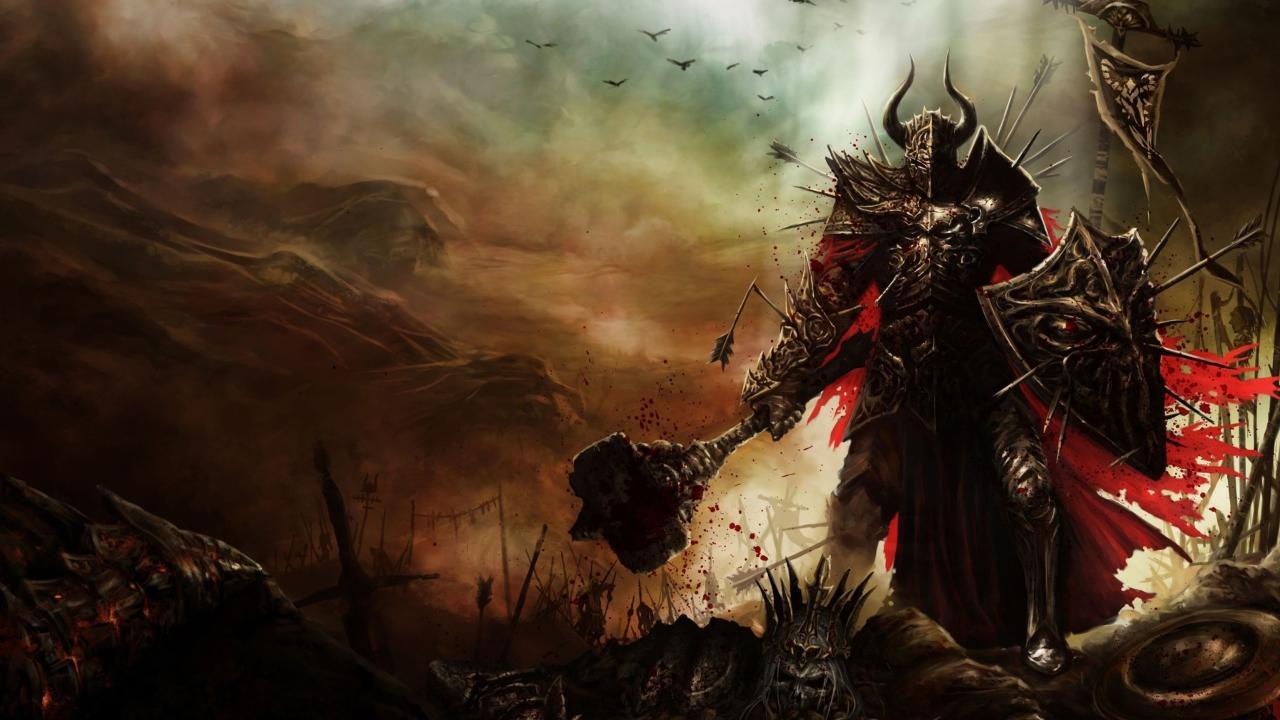 diablo iii warrior 1280x720 - Билд Крестоносец Бомбардир в Акканеcd