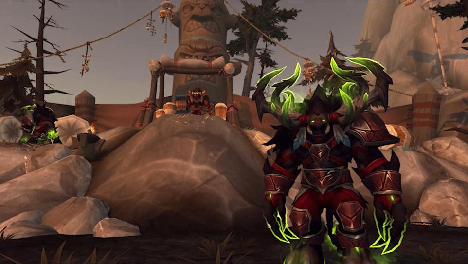 Прокачка уровня от 100-110 в World of Warcraft Legion