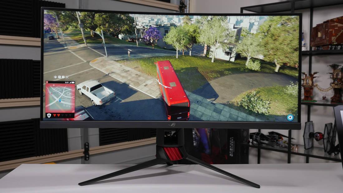 Asus ROG Strix XG35VQ Обзор монитора