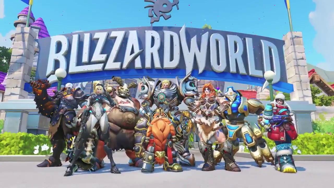 skins blizzard world - Blizzard World: все новые легендарные скины в Overwatchcd