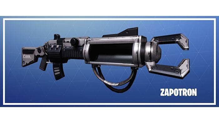 Fortnite: Battle Royale оружие Zapatron