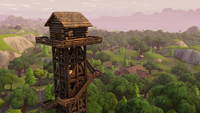 Fortnite: Battle Royale - Руководство по улучшению зданий