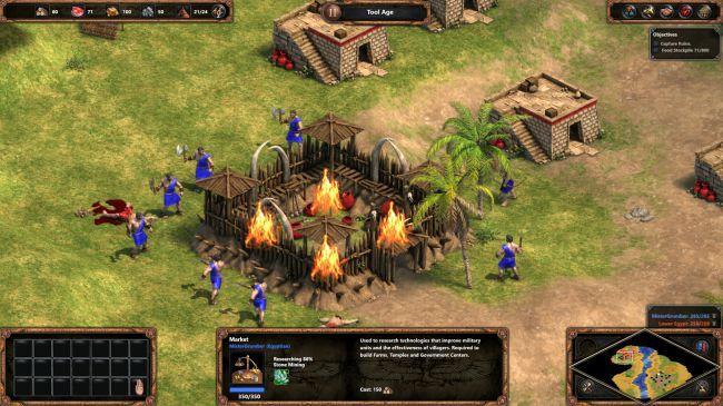 Аge of Empires definitive edition Обзор