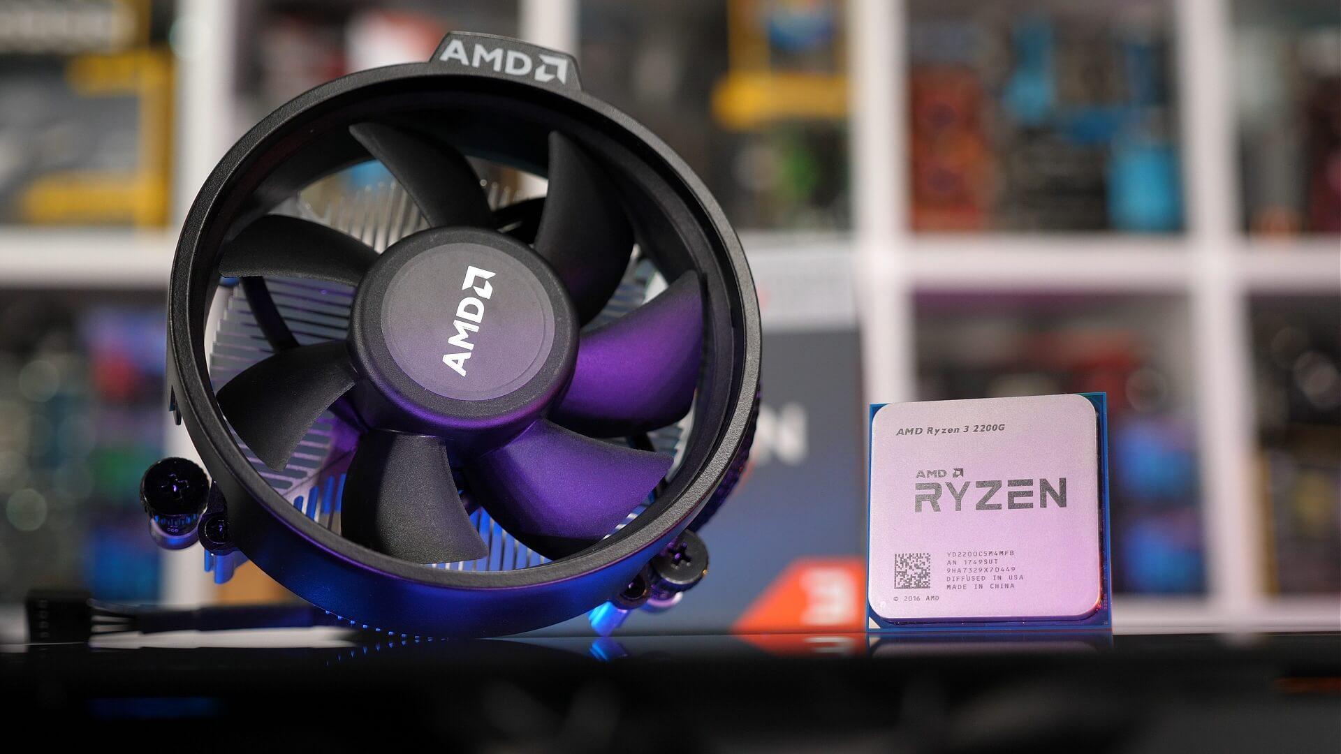 Графический процессор Ryzen + Vega на чипе: AMD Ryzen 5 2400G & Ryzen 3 2200G Обзор