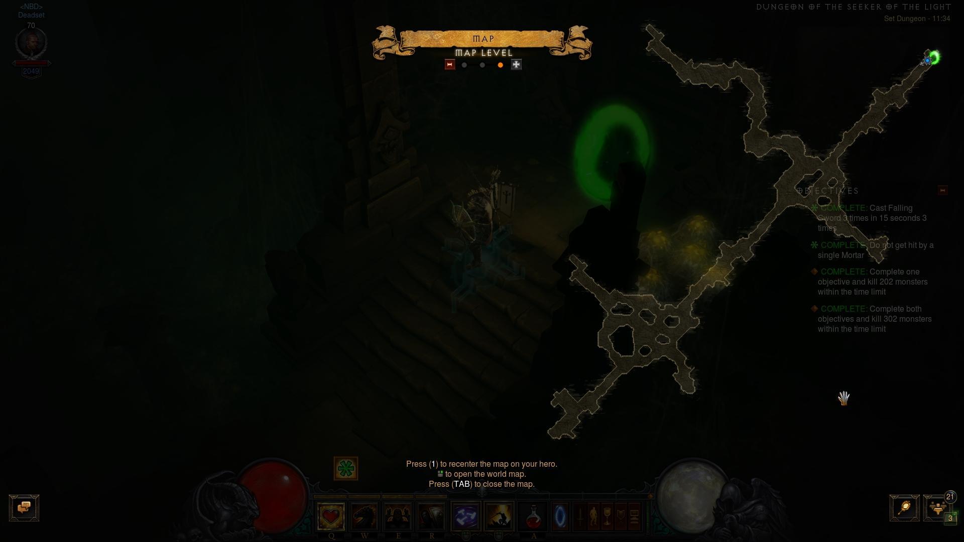 Крестоносец Поиски Света Комплектное Подземелье