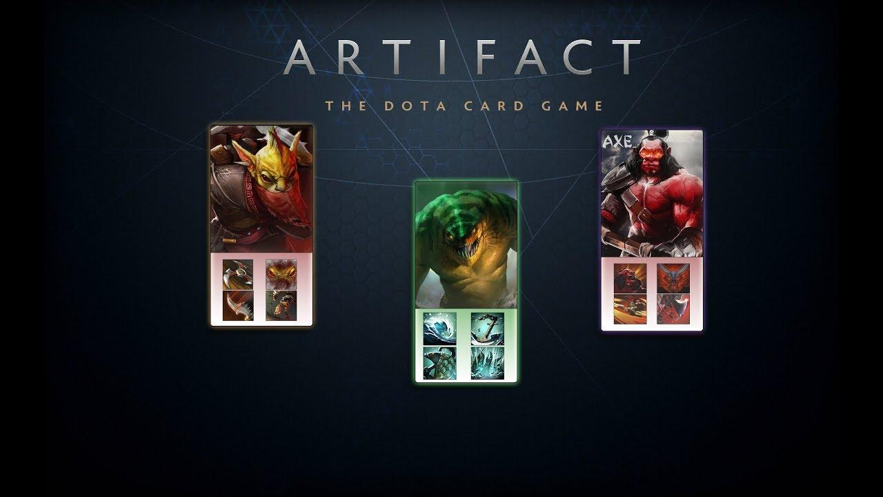 artifact cards - Артефакт: гайд по карточной игре Dotacd