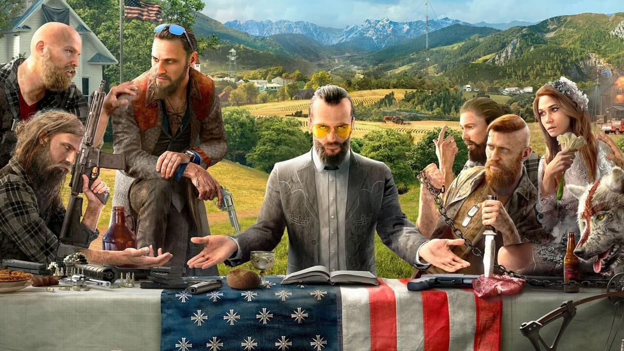 farcry5 - Far Cry 5 Обзорcd
