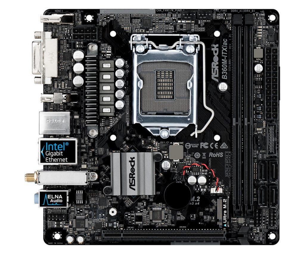 Лучшие материнские платы Intel B360