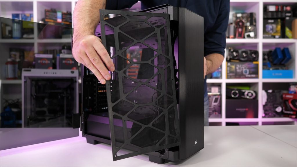 Corsair Obsidian Series 500D Обзор
