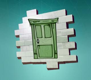 Поддельная дверь