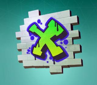 Метка X