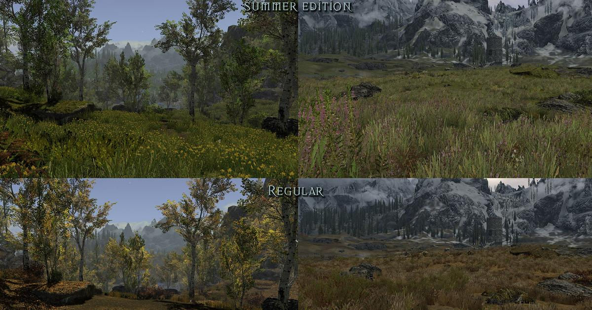 Skyrim Flora Overhaul