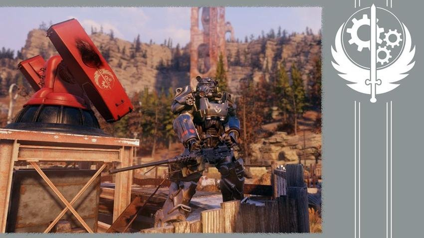 Братсво стали фракция Fallout 76