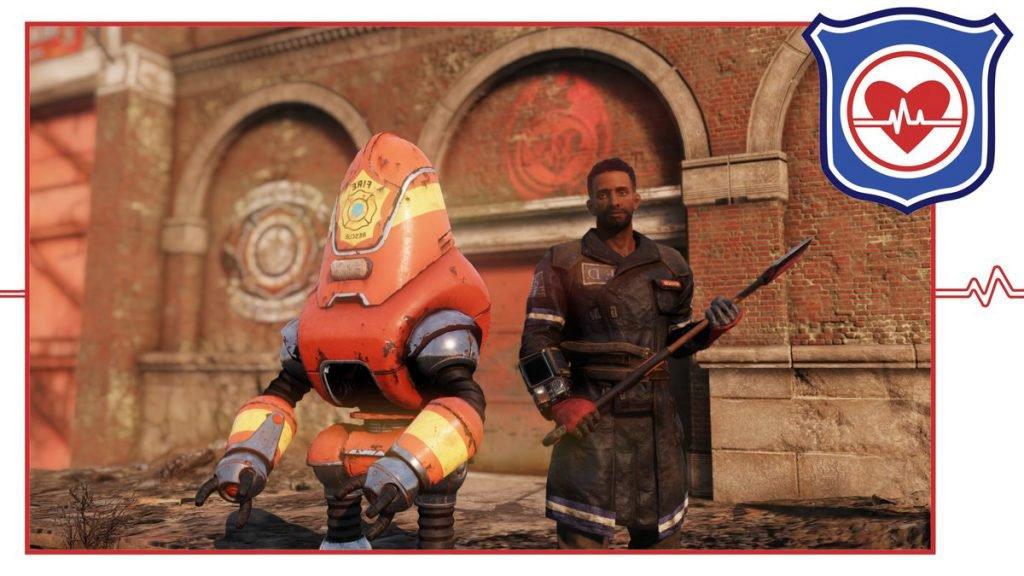 Спасатели фракция Fallout 76