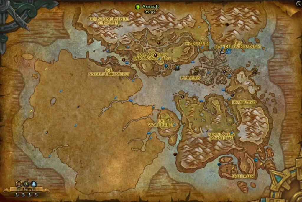 WoW-Patch-8.1-Angriffspunkt-Quests