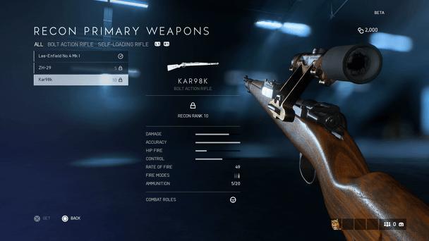Лучшее оружие Battlefield 5